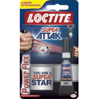 "Pillanatragasztó gél, 3 g, HENKEL ""Loctite Super Attak Power Flex Gel"" (IHSAG)"