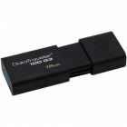 "Pendrive, 16GB, USB 3.0, KINGSTON ""DT100 G3"", fekete (UK16GDT13)"