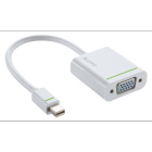 "Adapter, mini DisplayPort - VGA, LEITZ ""Complete"", fehér (E63090001)"