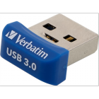 "Pendrive, 32GB, USB 3.0, 80/25MB/sec, VERBATIM ""NANO STORE ´N´ STAY"" (UV32GNS)"