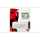 "Pendrive, 8GB, USB 3.0, KINGSTON ""DTI G4"", sárga (UK8GDT4)"