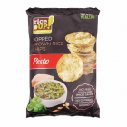 Barnarizs chips, 60 g, RICE UP, pesto (KHK616)