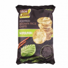 Barnarizs chips, 60 g, RICE UP, wasabi (KHK617)