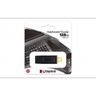 "Pendrive, 128GB, USB 3.2, KINGSTON ""DataTraveler Exodia"", fekete-sárga (UK128DTX)"