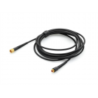 DPAMicroDot Extension Cable, 2.2 mm, 5 m (16.4 ft), Black